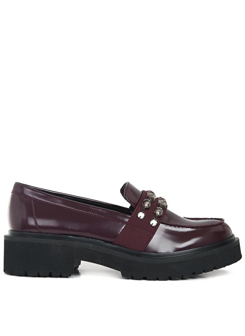 Nine West Loafer Ayakkabı Bordo